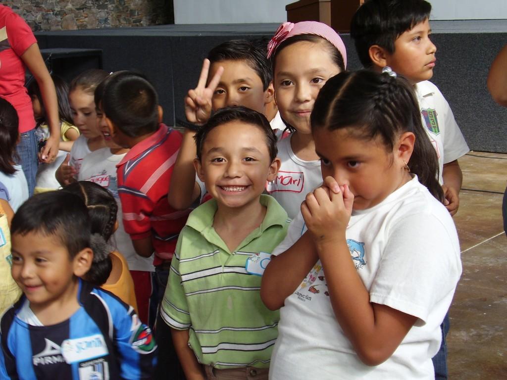 Niños y niñas, beneficiarios de los proyectos en México, 2010.