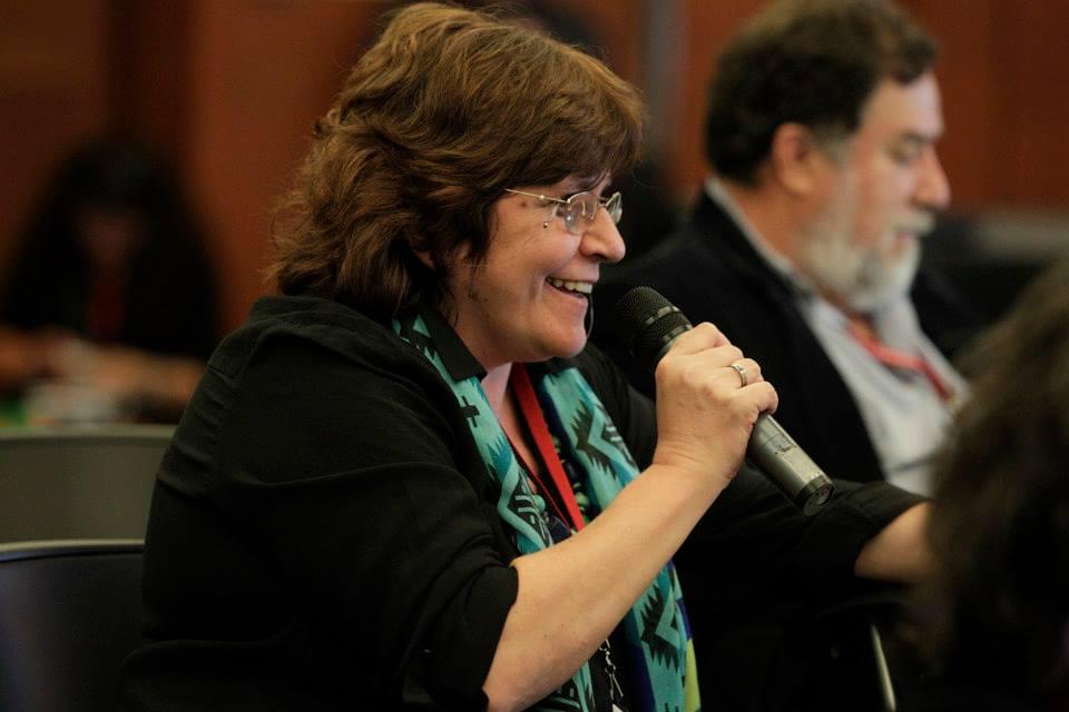 Alejandra Solla en Encuentro Cívico, México 2014.