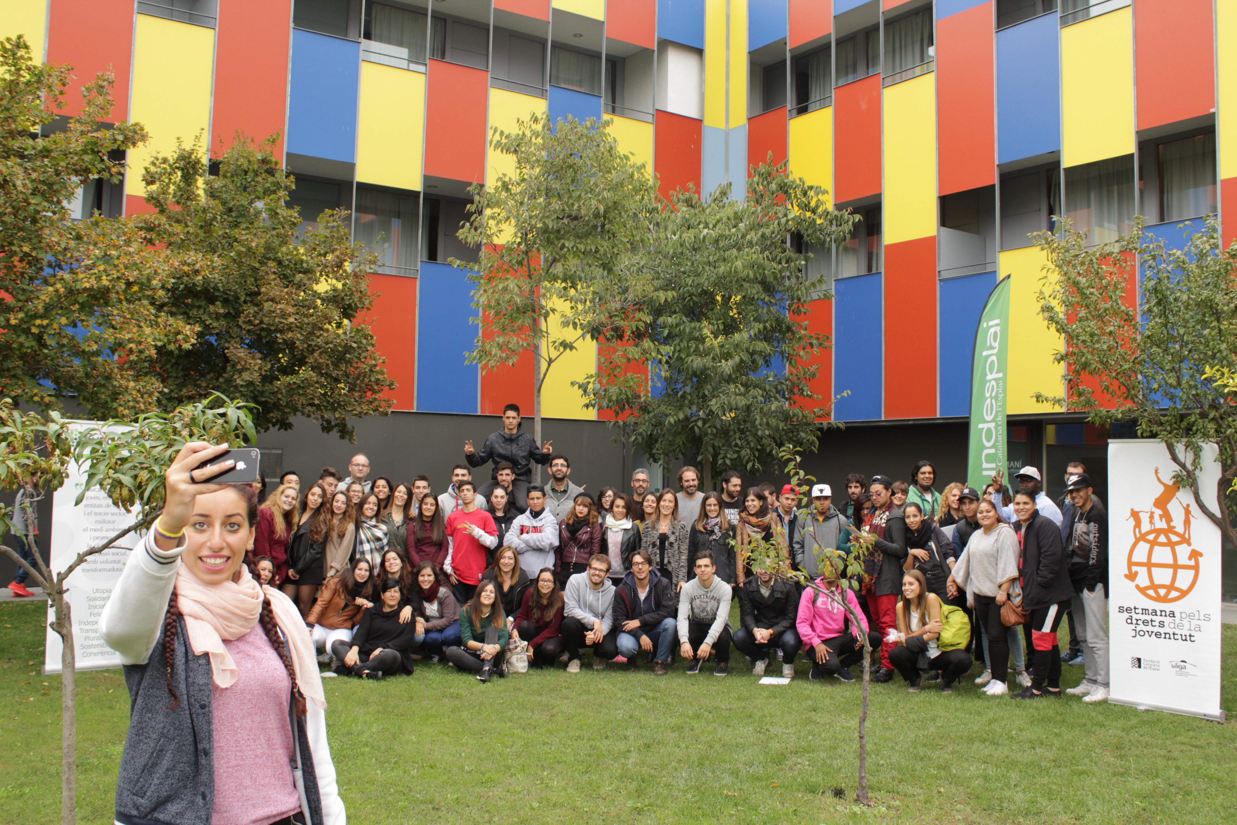 La Semana por los Derechos de la Juventud en Centre Esplai, Jóvenes activados con sus derechos