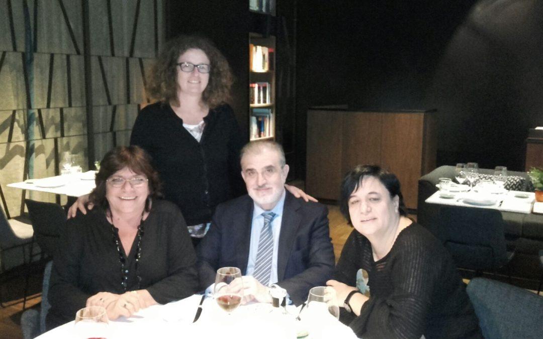 Andreu Cruañas, presidente de Asempleo, apostando por colaborar con La Liga Iberoamericana