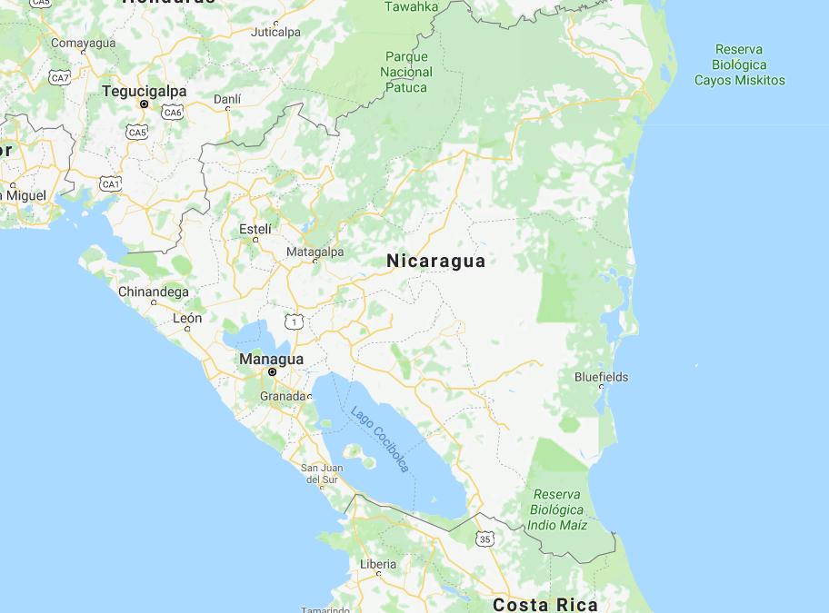 Solidaridad con el pueblo nicaragüense