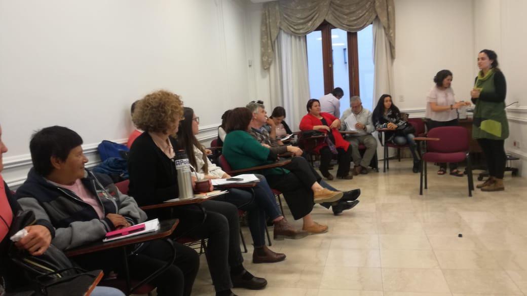 Intercambio argentino-uruguayo sobre prácticas de la economía social