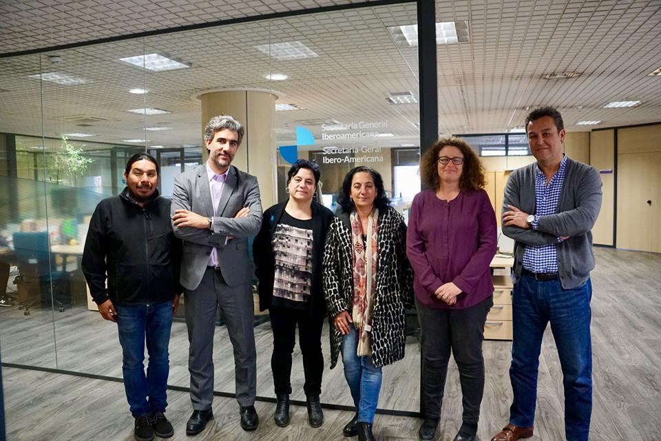 Parte de la Comisión Articuladora de los Encuentros Cívicos se reune en Madrid, para entregar Propuesta de Plan de Acción 2019-2020