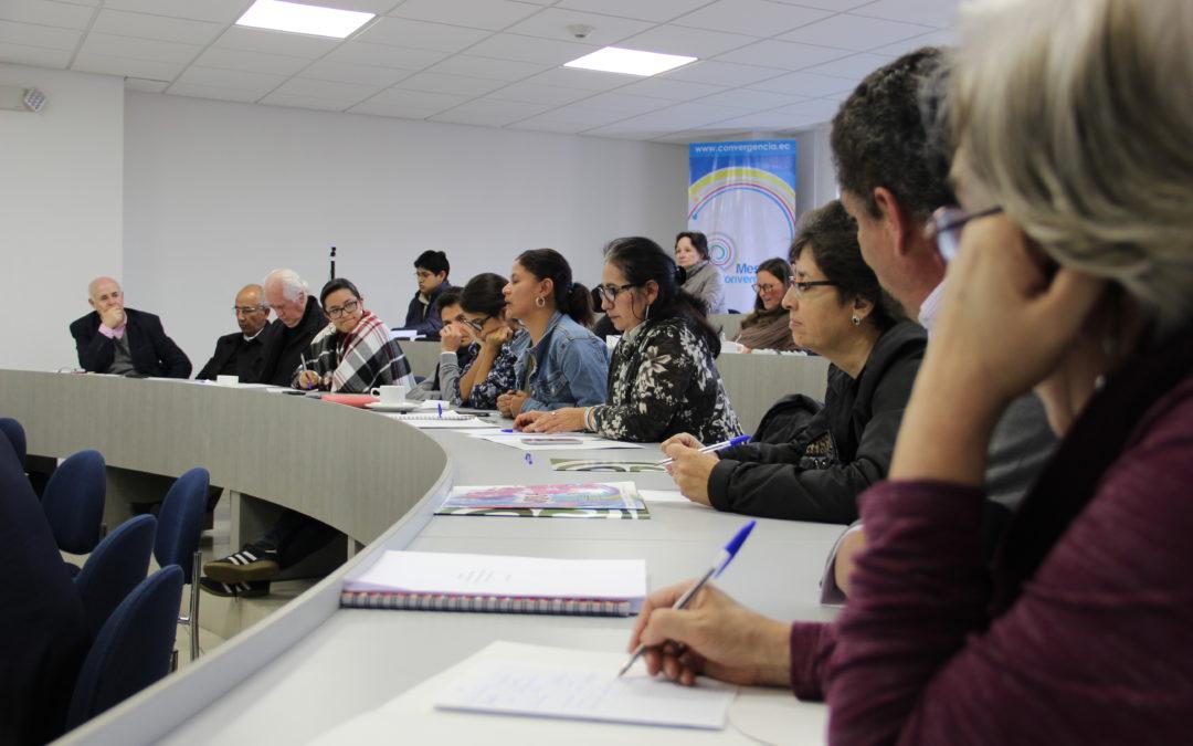 Ecuador: Espacio de diálogo y búsqueda de mecanismos alternos de participación