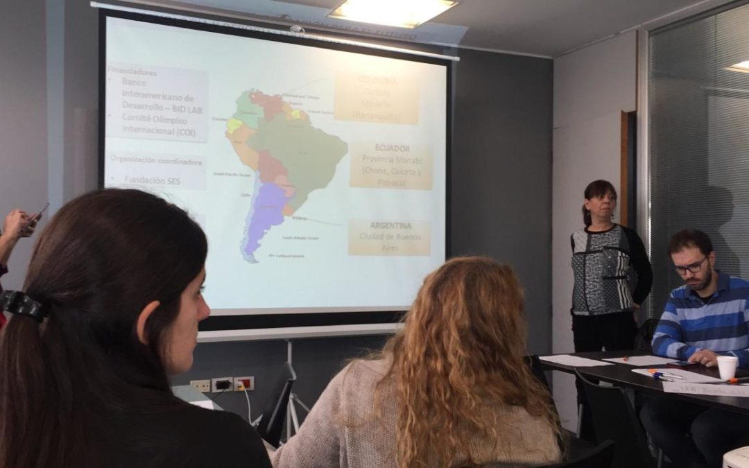 Fundación Esquel, Fundación SES y Microempresas de Colombia: SPORTIC nuevo proyecto!!