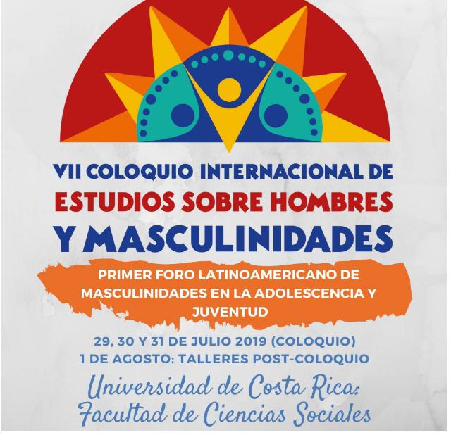 VII Coloquio internacional de masculinidades en Costa Rica: Fe y Alegría Nicaragua presente